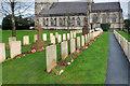 SJ0075 : Canadian War Graves at Bodelwyddan by David Dixon
