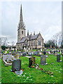 SJ0075 : Bodelwyddan, St Margaret's Church (The Marble Church) by David Dixon