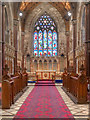 SJ0075 : Chancel and Sanctuary, St Margaret's Church by David Dixon