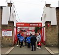 TQ1778 : The entrance to Griffin Park on New Road by Steve Daniels