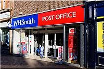 NS3321 : WH Smith & Post Office - Ayr by Ian Rainey
