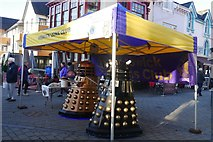 NY2623 : Daleks in Keswick by Jennifer Petrie