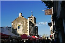 NY2623 : The Moot Hall decorated for Christmas in Keswick by Jennifer Petrie