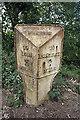 SO5621 : Old Milepost by TE Keegan