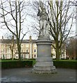 SK5903 : Statue of Robert Hall, De Montfort Square, Leicester by Alan Murray-Rust