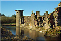 NY0265 : Caerlaverock Castle and Moat by Mary and Angus Hogg