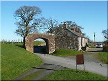 NY0265 : Caerlaverock Castle Gate by Mary and Angus Hogg