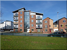 SE2932 : Modern apartments on Holbeck Moor Road by Stephen Craven
