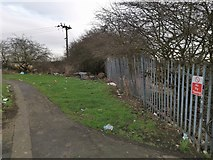 TA1914 : Fly tipping and litter by Chris Morgan