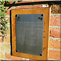 """TM4081 : Memorial to the crew of B24 """"Fay Day"""" by Adrian S Pye"""