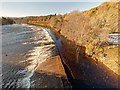 NH6543 : Weir on the River Ness by valenta