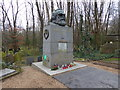 TQ2886 : The tomb of Karl Marx in Highgate Cemetery by Marathon