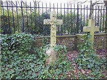 TQ2886 : Gravestone in Highgate Cemetery by Marathon