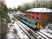 ST1882 : Train at Llanishen by Gareth James