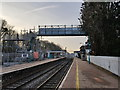 SO3013 : Temporary Bridge at Abergavenny Railway Station by Colin Cheesman