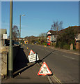 SX9066 : Roadworks, Barton Hill Way by Derek Harper