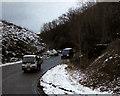 SJ1651 : A525, Nant Y Garth Pass by David Dixon