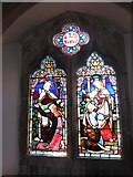 TQ7924 : St James the Great, Ewhurst Green: stained glass window (f) by Basher Eyre