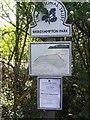 ST5476 : National Trust sign at Shirehampton Park by Eirian Evans