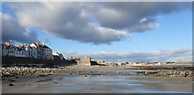 J3730 : The foreshore at Newcastle at Low Water by Eric Jones