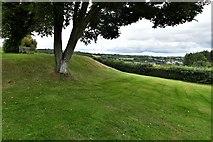 SX1061 : Restormel Castle:The Bailey by Michael Garlick