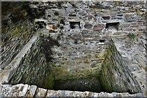 SX1061 : Restormel Castle: The Guardroom Garderobe by Michael Garlick