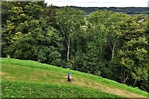 SX1061 : Restormel Castle: View from the Guardroom Wall-walk by Michael Garlick