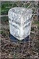 SD5078 : Old Milestone by the A6, near Daniel Croft, Beetham Parish by CF Smith