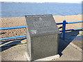 TM2832 : Memorial to three airmen on the Orwell Estuary 04/06/1940 by Adrian S Pye