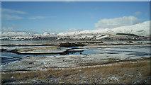 NG9239 : Saltmarsh at Attadale by Julian Paren