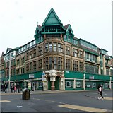 SK5804 : Former Joseph Johnson department store, Market Street, Leicester by Alan Murray-Rust