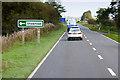 NX8674 : A75 near Shawhead by David Dixon