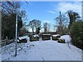 SE5207 : Footpath junction on Roman Ridge by Christine Johnstone