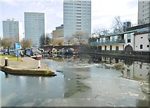 SP0686 : Birmingham, Cambrian Wharf by Mike Faherty