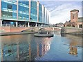 SP0586 : Birmingham, canal junction by Mike Faherty