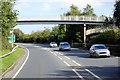 NX9677 : Footbridge over the Dumfries Bypass by David Dixon