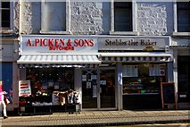 NS3321 : A. Picken & Sons and Stobbs the Baker - Ayr by Ian Rainey