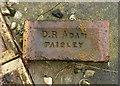 NS5565 : D R Adam Paisley brick by Thomas Nugent