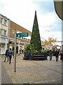 SJ8990 : Christmas tree in Merseyway by Gerald England