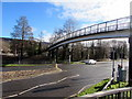 SO0002 : Footbridge over the A4059, Aberdare by Jaggery