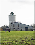 TQ5193 : Havering-atte-Bower: Water Tower, Broxhill Road by Jim Osley