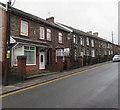 ST0895 : Row of stone houses, Glancynon Terrace, Abercynon by Jaggery