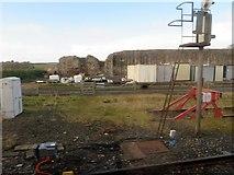 NT9953 : Railway Yard, Berwick Station by Stanley Howe