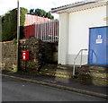 SN9903 : Queen Elizabeth II postbox, Wayne Street, Aberdare by Jaggery