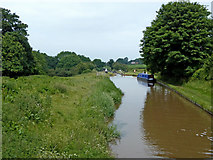 SJ6541 : Canal at Audlem Locks in Cheshire by Roger  Kidd