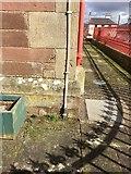 NX4355 : OS Cut Mark: Wigtown Town Hall by thejackrustles