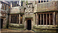 SD9951 : Tudor frontage of building in Conduit Court, Skipton Castle by Phil Champion