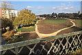 SP3065 : New park on Potterton's sports field by Robin Stott