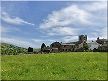 SD7087 : Dent church and village by Marika Reinholds