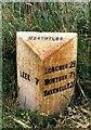 SK0464 : Old Milepost by J Higgins